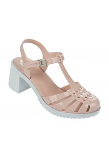 Chinelos - Dream II Sandal Fem Nude/White