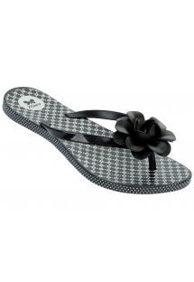 Flip-Flops - Fowers Fem - Black