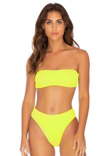 BOTTOM FREE FORM NEON YELLOW PURA CURIOSIDAD