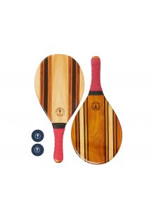 LEBLON BEACH BAT RED