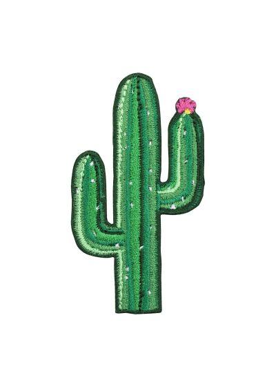 Set med 3 märken: toucan / flamingo / kaktus - BADGES TROPICAL