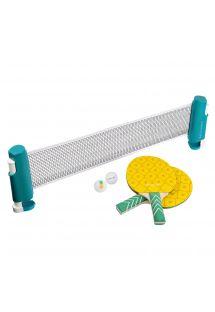 Ananas biçimli raketleri ile ping-pong oyun seti - PINEAPPLE PING PONG