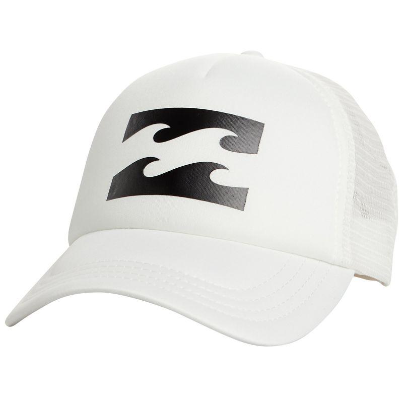 White trucker cap with back mesh - BILLABONG TRUCKER COOL WIP