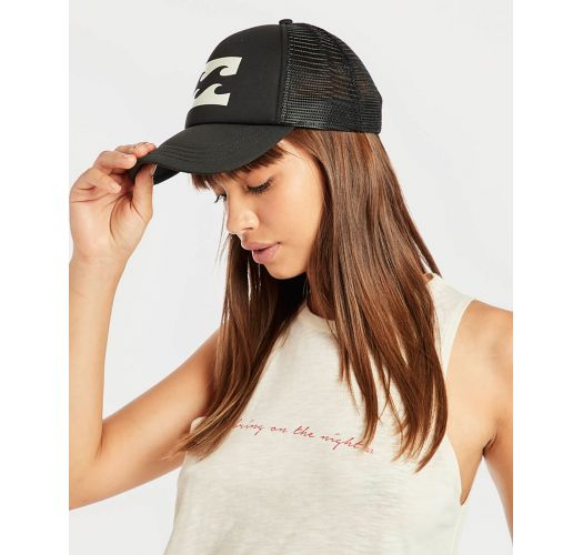 BILLABONG TRUCKER OFF BLACK