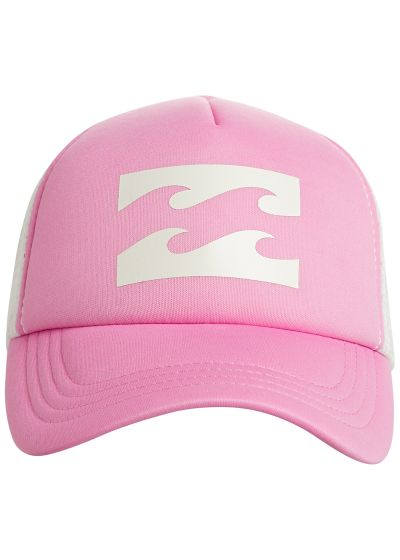 Printed pink trucker cap with back mesh - BILLABONG TRUCKER PRETTY PINK