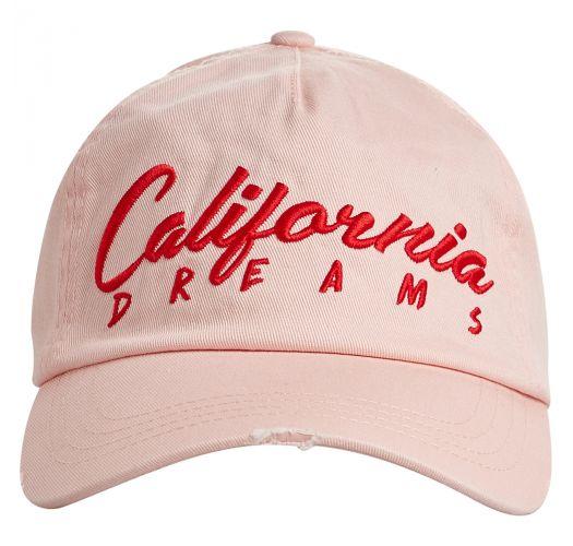 4b146160c78ea Hat California Pink Cap Used Effect - Surf Local Pale Rose