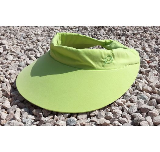 Fluorescent yellow visor cap - VISEIRA ABA AMARELO NEON