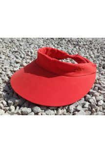 Fluorescent orange visor cap - VISEIRA ABA LARANJA