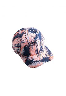 Colourful palm leaf print cap - AMAZON CAP