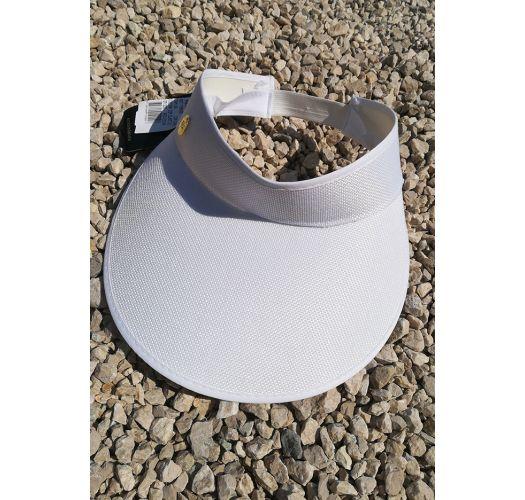 Weiße Schirmmütze mit elastischem Band - VISEIRA BRANCA