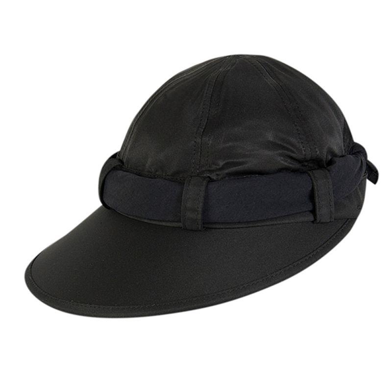 Black feminine cap and black tie - VISEIRA ANTIBES PRETO