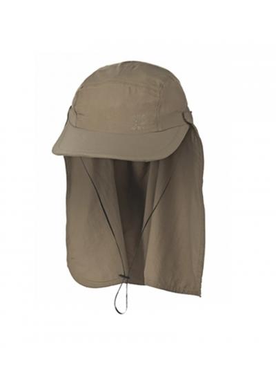 Khaki cap with neck protection - SPF50 - BONÉ LEGIONÁRIO KAKI - SOLAR PROTECTION UV.LINE