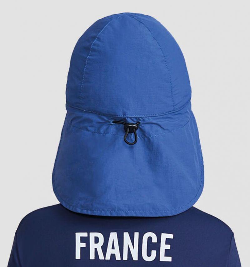Kids navy cap with neck protection - SPF50 - BONE LEGIONARIO MARINHO - SOLAR PROTECTION UV.LINE