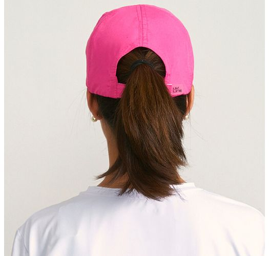 Adjustable pink feminine cap - UPF50 - BONÉ UVPRO ROSA - SOLAR PROTECTION UV.LINE