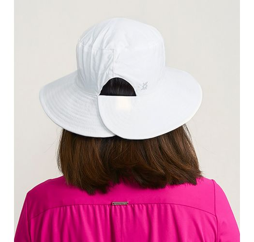 CHAPEU CALIFORNIA BRANCO - SOLAR PROTECTION UV.LINE