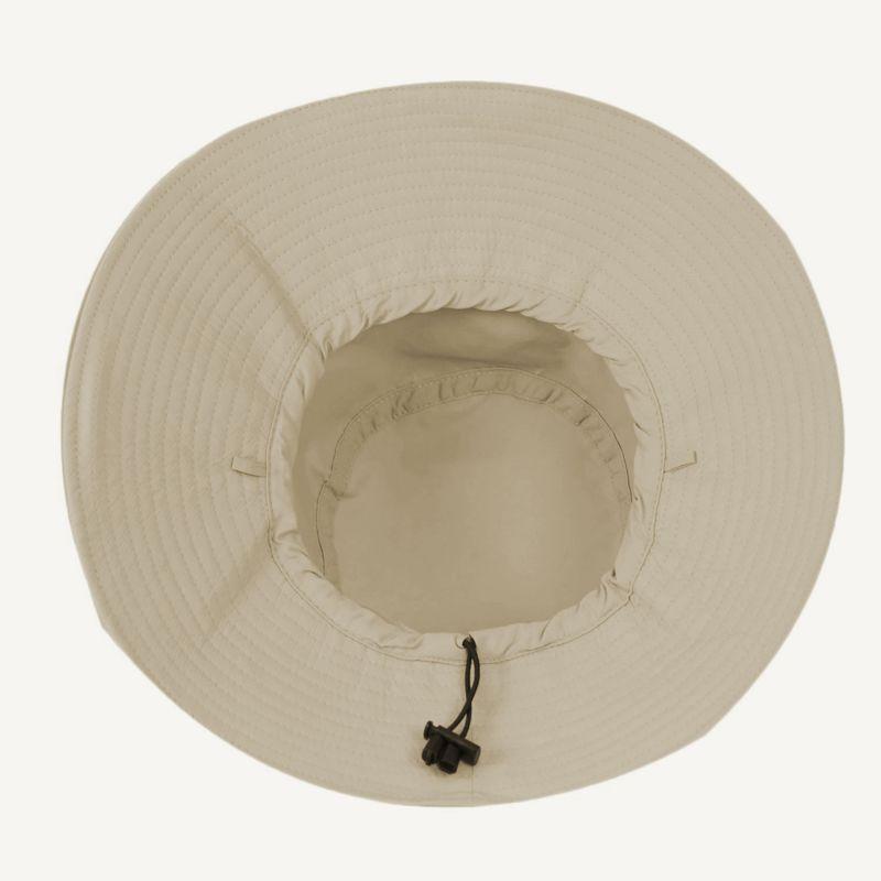 Plain dark beige soft hat - CHAPEU LYON KAKI - SOLAR PROTECTION UV.LINE