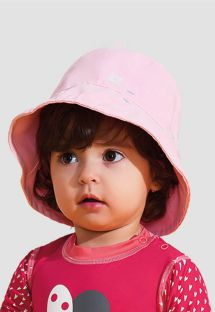CHAPÉU NAPOLI BASIC KIDS - ROSA - SOLAR PROTECTION UV.LINE