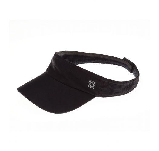 Sports-hatt i svart for damer - VISEIRA ATHLETIC DRY PRETO - SOLAR PROTECTION UV.LINE