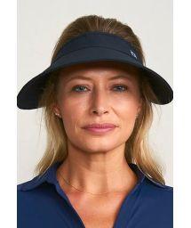 Adjustable black visor for women - VISEIRA BALI PRETO