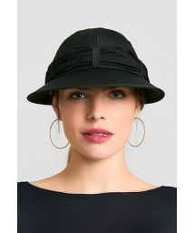 Women&#39s black cap with black bandana - VISEIRA SAINT TROPEZ PRETO