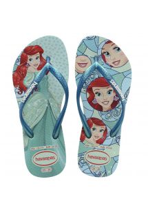 KIDS SLIM PRINCESS MENTHA GREEN