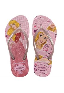 KIDS SLIM PRINCESS PEARL PINK