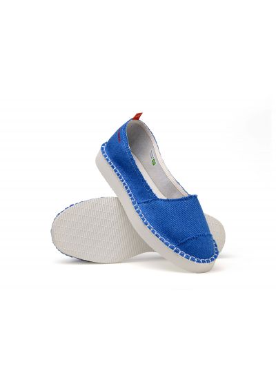 HAVAIANAS ORIGINE FLATFORM UP II BLUE STAR