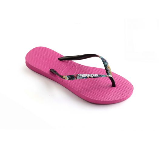 HAVAIANAS SLIM STRAPPED HOLLYWOOD ROSE