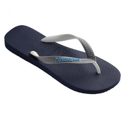 ff14427ae143 Flip-Flops Top Mix Navy Blue-steel Grey - Brand Havaianas