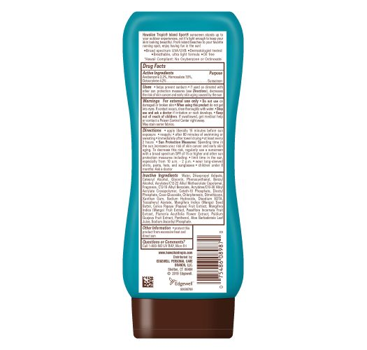 HAWAIIAN TROPIC ISLAND SPORT SUN LOTION SPF 30