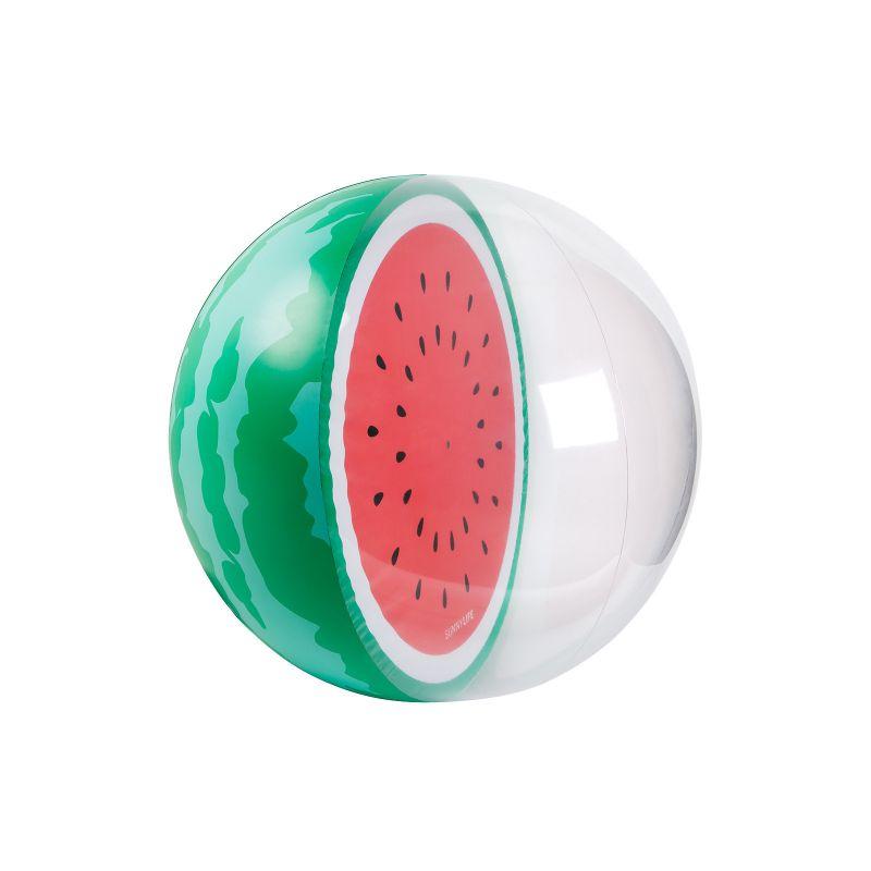 XL uppblåsbar ballong, form av en vattenmelon - BALL WATERMELON XL