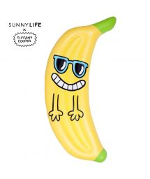 Banana-shaped inflatable x Tiffany Cooper - BANANA TROPIC