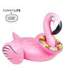 Flamingo-shaped inflatable x Tiffany Cooper - FLAMINGO TROPIC