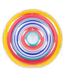 Large, round multicoloured 2-person pool float - FLOAT HAVANA