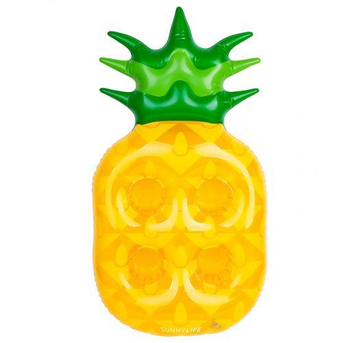 Schwimm-Getränkehalter im Ananas-Design - GROOVY PINEAPPLE