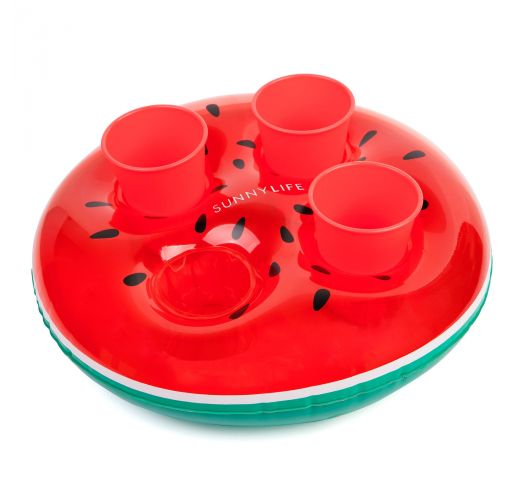 Watermelon rubber ring glass holder - GROOVY WATERMELON