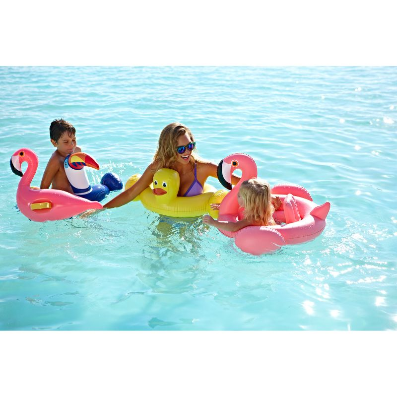 Toucan pool float for children aged 3 to 6 - KIDDY TOUCAN