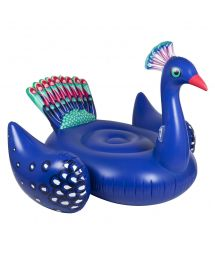 Inflatable swimming toy - peacock - LUXE PEACOCK