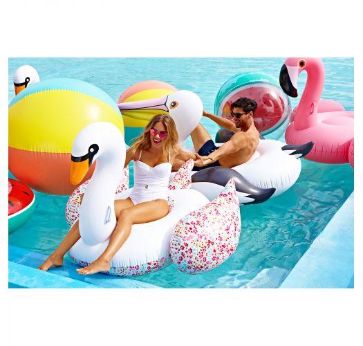 Rubberen pelikaanzwemband voor volwassenen - LUXE PELICAN