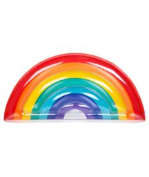 Rainbow multi-coloured rubber ring - LUXE RAINBOW