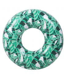 Inflatable ring - banana leaves - RING BANANA PALM