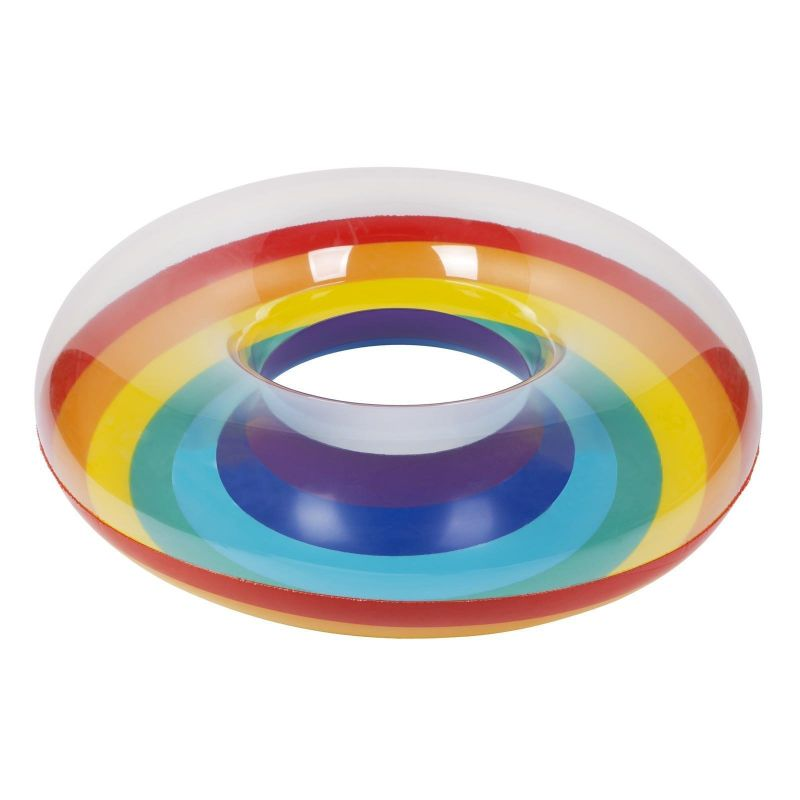 Inflatable ring - rainbow - RING RAINBOW