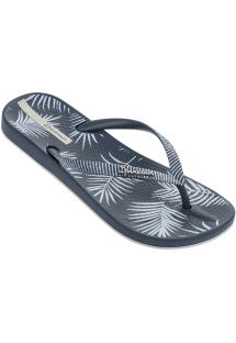 484ad724f60e9 Havaianas Grey Havaianas flip flops with silver straps - Slim Steel Grey   29.13. ANAT NATURE II FEM - BLUE