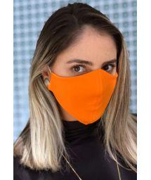 Masque anti-projection orange lavable - FACE MASK BBS06
