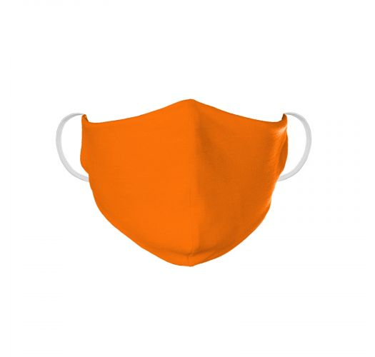 Washable orange barrier mask - FACE MASK BBS06