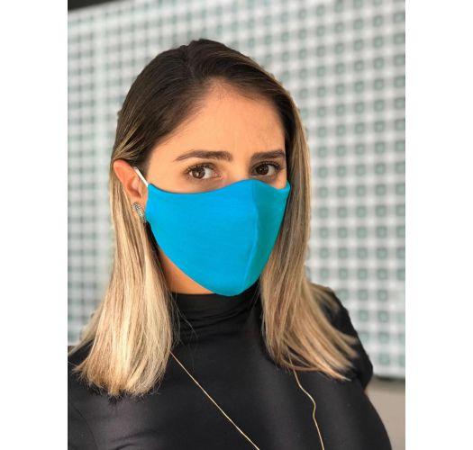 Washable blue barrier mask - FACE MASK BBS07