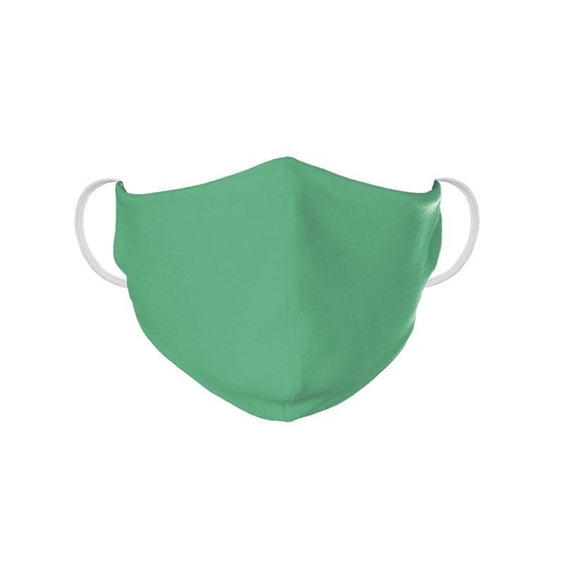 Tvättbar grön skyddsmask - FACE MASK BBS08
