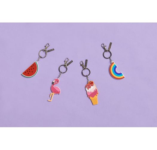 FLAMINGO KEY RING
