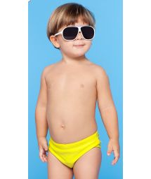 Yellow little boys` swimming trunks - MAPA BABY