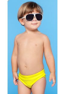 Yellow little boys` swimming trunks - MAPA BABY